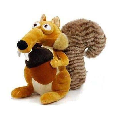 changshuo Stofftier Lustige Süße Tierpuppe Ice Age 3 Scrat Eichhörnchen Gefüllte Plüschtier Geschenk
