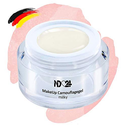 Make Up Camouflage Aufbau - Gel Milky - Babyboomer - Studio Qualität - Made in Germany - 5ml
