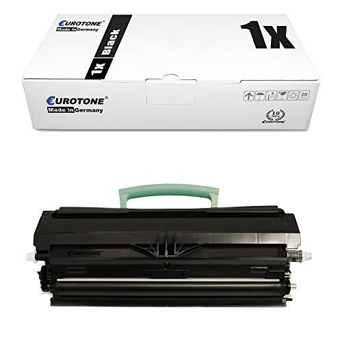 1x Eurotone Toner für Lexmark X 264 363 364 DW DN ersetzt 00X264H11G Black Schwarz