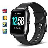 Blackview Smartwatch, Fitness Armband Uhr Voller Touch Screen Fitness Tracker mit Pulsmesser, 5ATM...