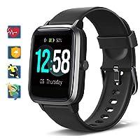 [Aggiornamento completo Touch Screen] Blackview BV-01 Smartwatch utilizza un display LCD TFT da 1,3 pollici a colori pieno di touch screen, un display più chiaro, un uso più comodo, per una nuova esperienza di aggiornamento. Dispone di 4 diversi eleg...
