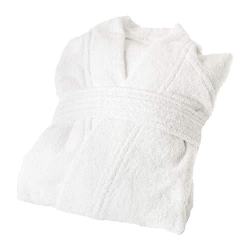 Ikea Rockan Badjas Wit 003.919.18 Maat: S/M