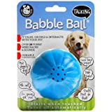 Pet Qwerks Talking Babble Ball Interactive Dog Toys - Wisecracks & Makes Funny