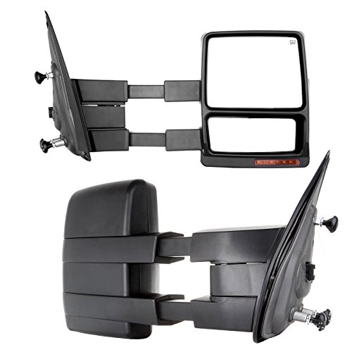 For Ford Towing Mirrors SCITOO Exterior Accessories Mirrors for 2007-2014 Ford F150 Truck with Power...