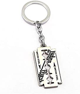 Value-Smart-Toys - United Kingdom Music Band Judas Priest Keychain Blade Logo Key Chain Ring Pendant Chaveiro Jewelry Accessory Men Women Gift