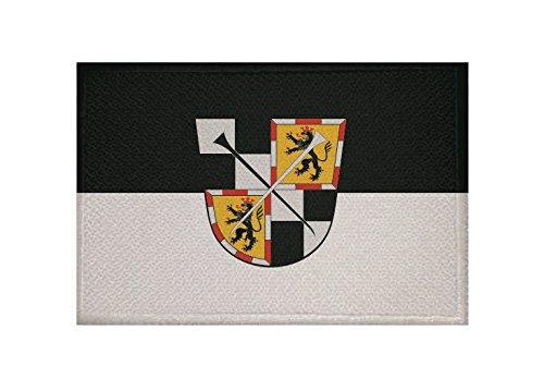 U24 Aufnäher Bayreuth Fahne Flagge Aufbügler Patch 9 x 6 cm