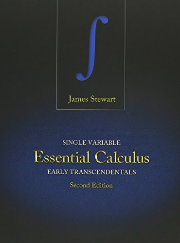 Bundle: Single Variable Essential Calculus: Early Transcendentals, 2nd + WebAssign - Start Smart Guide for Students + WebAssign Printed Access Card ... Transcendentals, 2nd Edition, Multi-Term