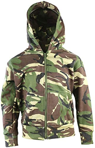 Kombat UK Kinder Camo Hoodie, Kinder, Camo, DPM Camo, 9-11 Years