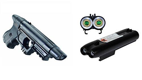 Piexon Pfefferspraypistole Jet JPX + 2 Ersatzmagazine