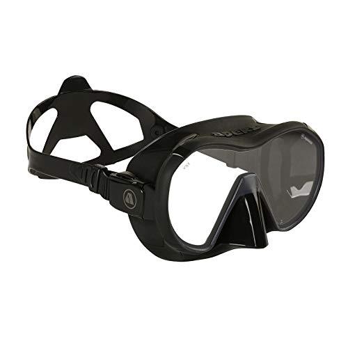 Apeks VX 1 Pure Clear - Tauchmaske mit Ultra Clear Glas, Farbe:schwarz