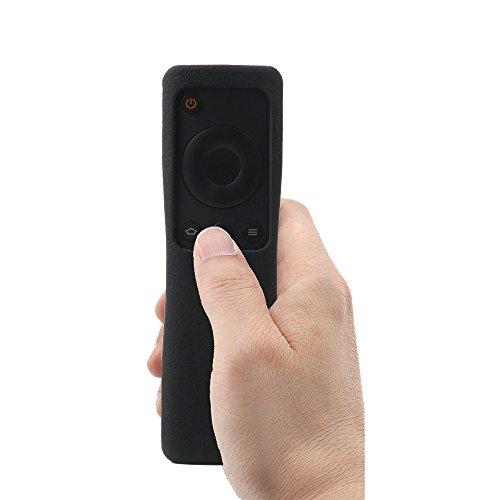 MI Box 3telecomandi Custodia protettiva Sikai Custodie per telecomando per MI Custodia protettiva in silicone antiurto per Xiaomi Custodia per telecomando Nero