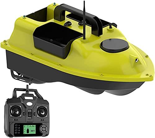 WANIYA1 Alta Velocidad RC Bote GPS Control Remoto Speed Boat Fishing Bait Boat Wireless Electrical Water Yacht Modelo RC Barco de Motor para Piscinas y Lagos. RC Regalo de Juguete