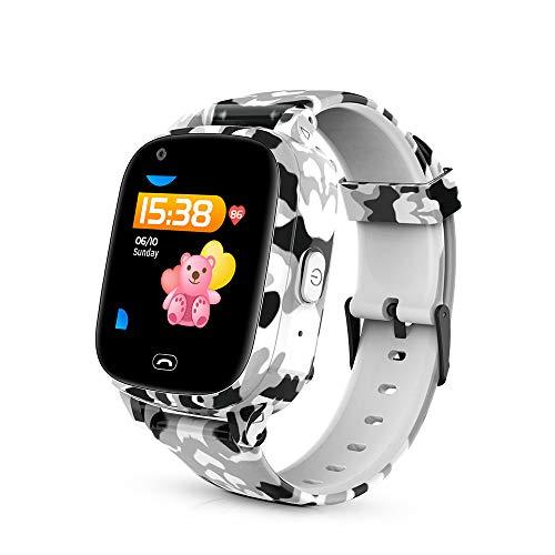 Smartwatch, GPS WiFi Posicionamiento 4G Smart Watch para Niños, Monitoreo De Salud, Análisis del Sueño, Podómetro