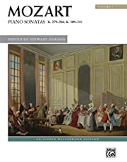 Mozart Piano Sonatas 1: K. 279--284; K. 309--311 (Alfred Masterwork Library)