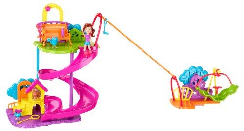 Polly Pocket Wall Party Pet Park Playset