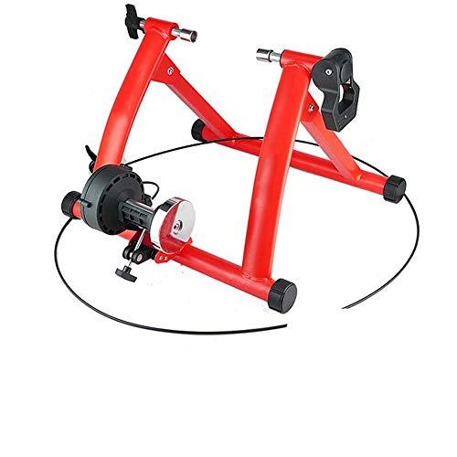 Indoor Bike Trainer Magnetische weerstand overdekte fietsenstalling Turbo Trainingstandaard Variabele Weerstand Foldale for 26-28 Inch Fietsen Platform Duurzaam en Stabiel Ontwerp