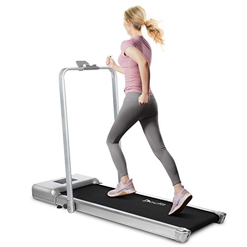 Folding Treadmill for Home Use, Doufit...