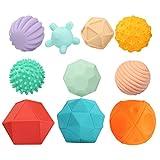 KLOVA Strukturierter Multi-Ball-Anzug, taktiler sensorischer Ball, Baby-Grip-Ball, sensorischer Ball