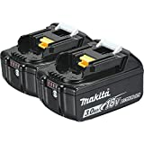 Makita BL1830B-2 18V 3.0 Ah LXT Lithium-Ion Battery (2-Pack)