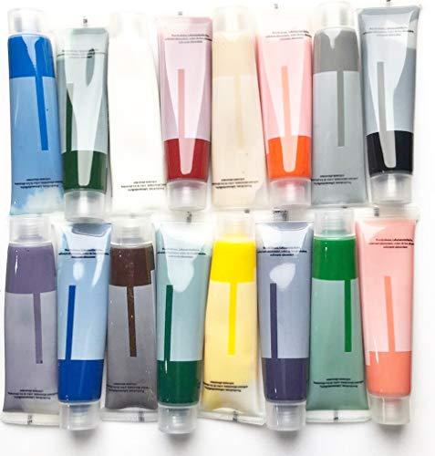 Colorant alimentaire gel - chaque couleur gel poids net 16 x 15ml