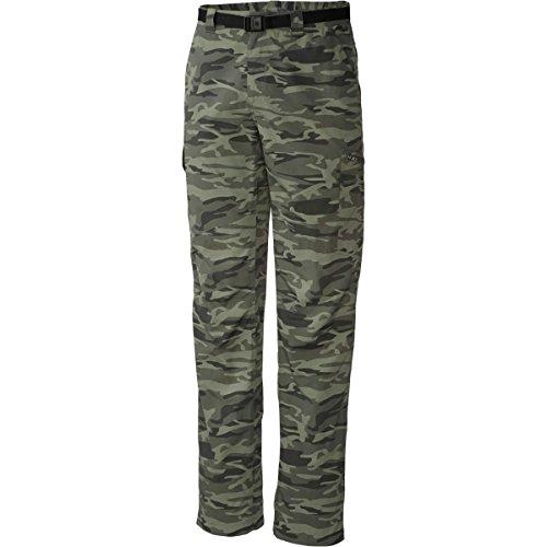 Columbia Silver Ridge Short Cargo pour Femme Imprimé – Gravier Imprimé Camouflage, 30