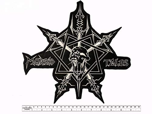 Celtic Frost Morbid Tales Big Back Patch 28cm x 27cm / 11' x 10,6' (Iron-On)