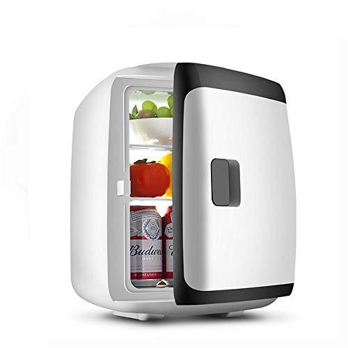 JLWF Autokühlschrank 15L -5~65 Celsius Innenkühlbox Tragbare Kühlschrank Kühler Heizung 12-24 V Mini Kühlschrank Black-Dual-core
