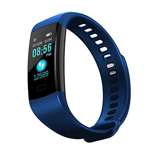 Smartwatch Kinder,Damen Sportuhr,Herren Uhren Automatik,Schrittzähler Uhr Damen Ohne App Und Handy,Armband Holz,Smart Watch Android,DIKHBJWQ