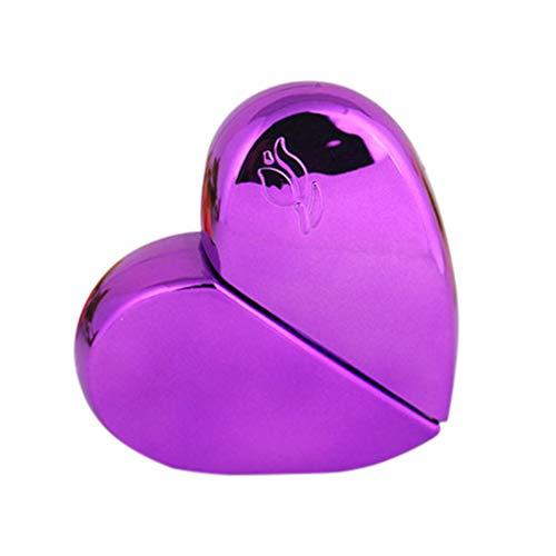 BESPORTBLE Botella de Perfume de 25 Ml Love Heart Botellas de Spray de Niebla Vacías Recargables Loción de Agua Contenedor de Líquido para Productos de Limpieza Cosméticos Aceites Esenciales