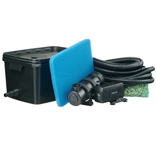Ubbink FiltraPure Filtre pour bassin 16 L avec Xtra pompe 600 L/h