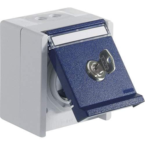 OPUS® RESIST Schutzkontakt-Steckdose 1-fach mit Schloss Ausführung Schließung