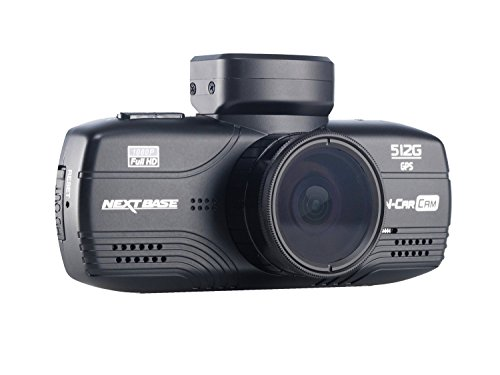Nextbase NBDVR512G In Car Dash Cam Camera DVR Dashboard Digital Driving Video Recorder 512G Anti-glare Polarising Full 1080P HD Black,3.4 x 5.6 x 6.5 cm (DXWXH)