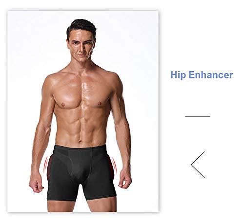 Jolie Butt Lifter Hombre Hip Enhancer Acolchado Boxer