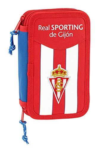 Safta Real Sporting Etui, officiële Gijon, inclusief 28 nuttige accessoires, 125 x 40 x 195 mm
