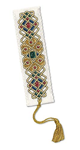 Textile Heritage Counted Cross Stitch Bookmark Kit - Celtic Jewel