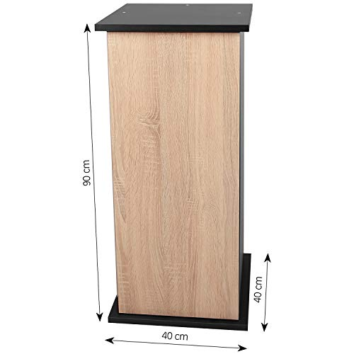 sera 32400 Unterschrank 90 cm mit Tür Sonoma Oak für Scaper Cube Aquarium