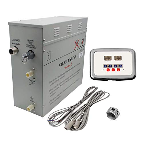 Superior Self-Draining Steam Bath Generator
