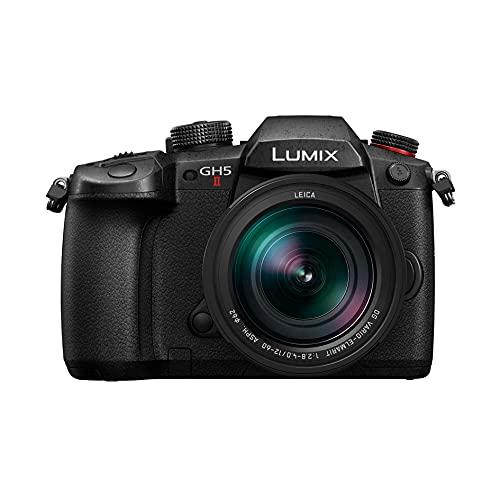 Panasonic Lumix DC-GH5M2LE - Cámara Evil con Objetivo Leica 12-60 mm/F4 (20MP, 4K, Doble estabilización, protección contra frío, Polvo y dalpicaduras de Agua), Color Negro