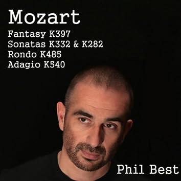 Mozart Fantasy K. 397, Sonatas K. 282 & K. 332, Rondo K. 485 and Adagio K. 540