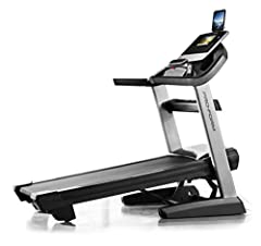 4.25 chp Mach Z commercial plus motor, iFit enabled, 10 inch full color touchscreen, 38 workout apps, iPod compatible audio 15 percent incline, -3 percent decline, 22 x 60 inches tread belt, 0 to 12 MPH quick speed control, EKG heart rate monitor wit...