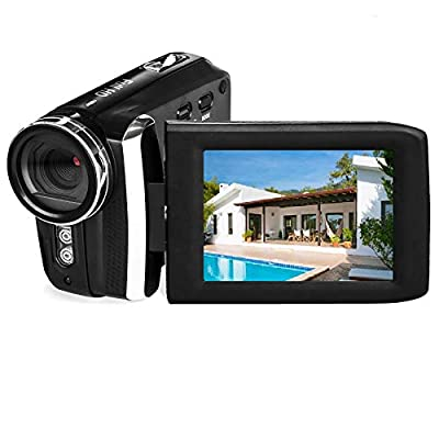 Vmotal Video Camera 1080P Camcorder Vlogging Camera for YouTube, Digital Camera Recorder 270 Degree Rotation Flip Screen from SHENZHEN GAODI DIGITAL CO., LTD.