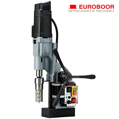 Best Buy! EUROBOOR Magnetic Drill Press - 1600W / 14.5A Portable Drilling Machine with 2-3/16 Annul...