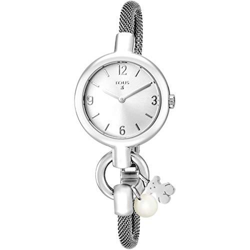TOUS Reloj Hold Charms de Acero, Diámetro: 30 mm.