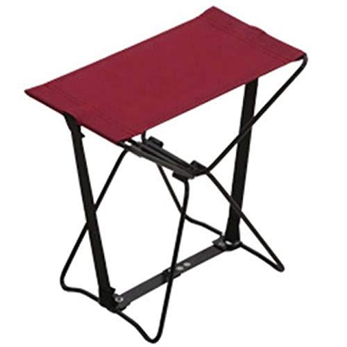 MHBY Sedia da campeggio, sedia pieghevole portatile sedia tascabile adatta per sgabello da pesca tascabile all'aperto con borsa portatile sgabello da esterno
