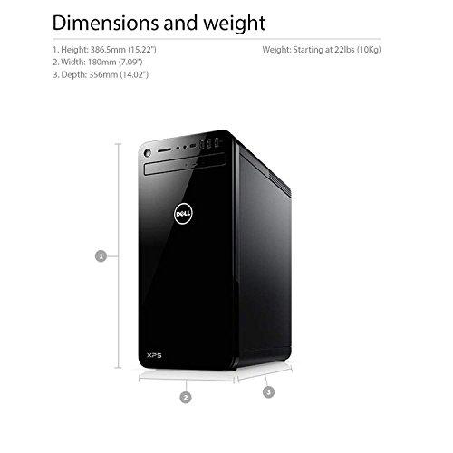 Ordinateur de Bureau pour Gamer Dell XPS 8930 Intel Core i5 NVIDIA GeForce GTX 1050 Ti Windows 10 - 4