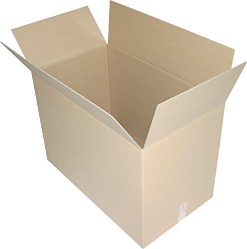 5 St. Faltkartons 800x600x600 mm Umzugskartons Europaletten Modul Maß 2.40 BC 2 wellig stabil Versandschachtel 80x60x60 cm Kiste Post Versandbox