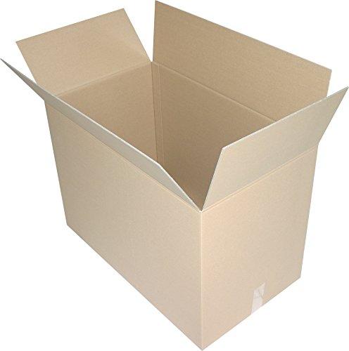 1 St. Faltkartons 800x600x600 mm Umzugskartons Europaletten Modul Maß 2.40 BC 2 wellig stabil Versandschachtel 80x60x60 cm Kiste Post Versandbox