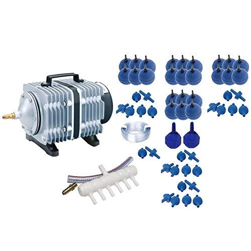 Hailea ACO-500 Luftkompressor Serie Koi Teich Aquarium Belüfter Sauerstoffpumpe