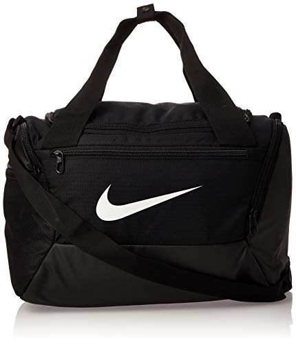 Nike NK BRSLA XS DUFF - 9.0 (25L) Gym Bag, Black/White, 40 cm