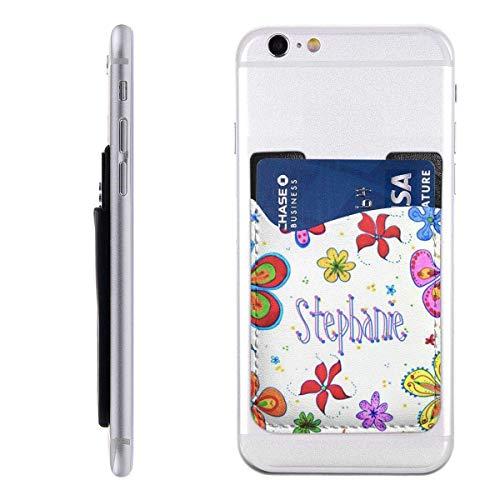 Inner-shop Mobiele kaart Portemonnee Portemonnee Pocket ID Credit Card MouwKleurrijke Bloemen Grote Bloemen Artistieke Heldere Persoonlijke Gepersonaliseerde Tiener
